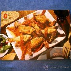 Postales: POSTAL IBERIA PLATOS TIPICOS Nº 9 POLLO AL CHILINDRON NO CIRCULADA. Lote 36177566