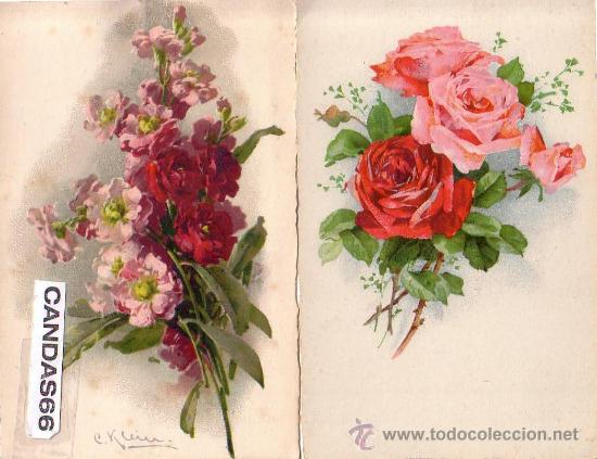 Resultado de imagen de postales de flores.