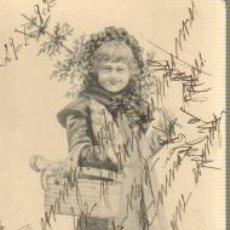 Postales: POSTAL MODERNISTA - CIRCULADA EN 1902. Lote 36838712