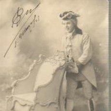 Postales: POSTAL MODERNISTA - CIRCULADA EN 1905. Lote 36838731