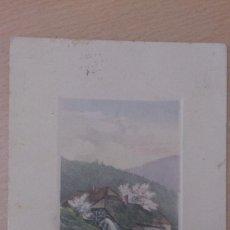Postales: ANTIGUA POSTAL PAISAJE MOLINO DE AGUA MADRID 1911 ESCRITA A TOTANA MURCIA. Lote 37475140