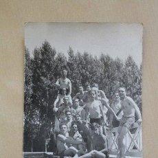 Postales: POSTAL. HOMBRES EN TRAJE DE BAÑO. JULIO 1928.. Lote 38235494