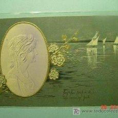 Postales: 383 PRECIOSA POSTAL ESTILO ART NOUVEAU - AÑOS 1900 - MAS EN COSAS&CURIOSAS. Lote 10003844