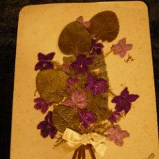Postales: POSTAL ANTIGUA INNIGSTE GRATULATION AÑO 1888. Lote 45987909