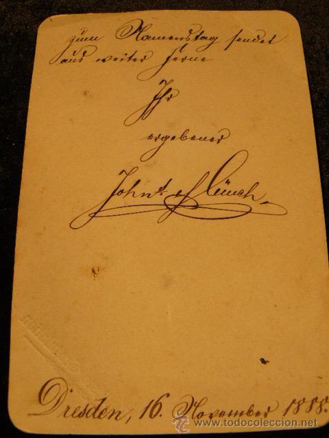 Postales: POSTAL ANTIGUA INNIGSTE GRATULATION AÑO 1888 - Foto 5 - 45987909