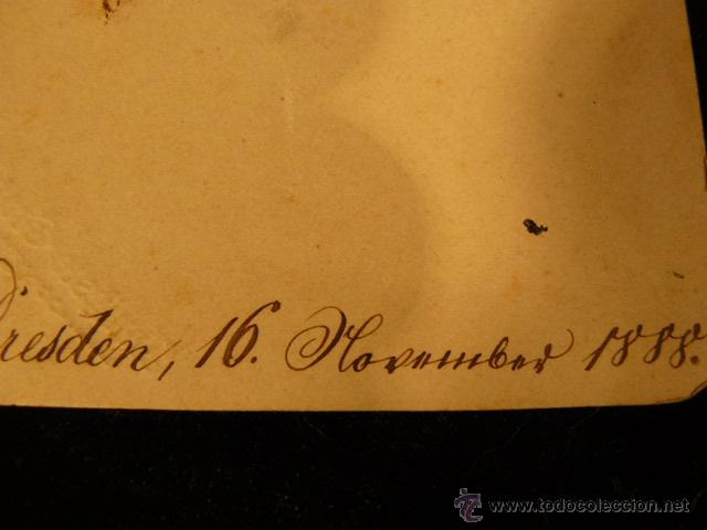 Postales: POSTAL ANTIGUA INNIGSTE GRATULATION AÑO 1888 - Foto 6 - 45987909