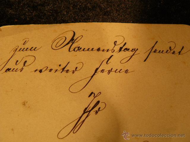 Postales: POSTAL ANTIGUA INNIGSTE GRATULATION AÑO 1888 - Foto 8 - 45987909