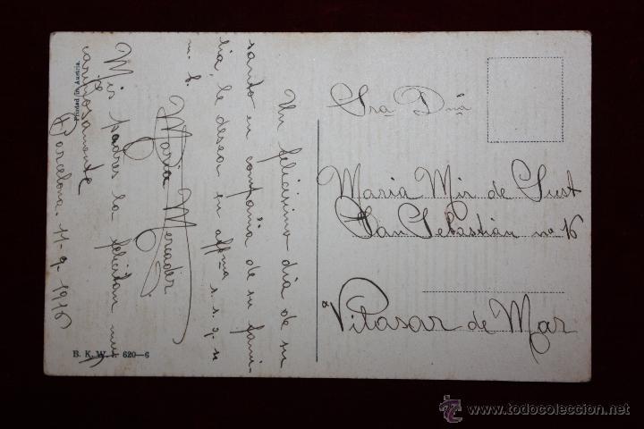 Postales: POSTAL ILUSTRADA POR MELA KOEHLER, ESCRITA - Foto 2 - 47772900