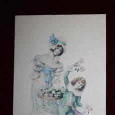Cartes Postales: ANTIGUA POSTAL ESTILO MODERNISTA. MUJER CON NIÑO. M.M. VIENNE NR. 237. SIN CIRCULAR. Lote 47775515