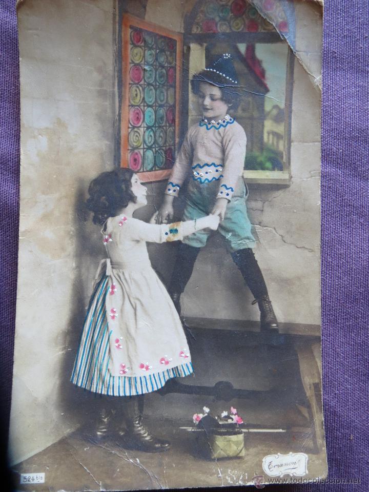 NIÑOS EPOCA (Postales - Postales Temáticas - Estilo)