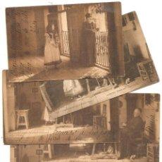 Postales: COLECCIÓN CÁNOVAS. HAUSER Y MENET. DORSO SIN DIVIDIR. 14 POSTALES. Lote 49276224