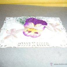 Postales: ANTIGUAPOSTAL TROQUELADA CON RELIEVE CIRCULADA 1908 - 14X9 CM. . Lote 52885266