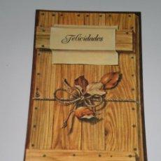 Postales: POSTAL ANTIGUA , EDICIONES BUSQUETS . 21 X 10 CMS .. Lote 54235760