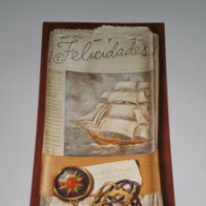 Postales: POSTAL ANTIGUA , EDICIONES ZAFIRO ( SABADELL ) . 21 X 10 CMS .. Lote 54235773