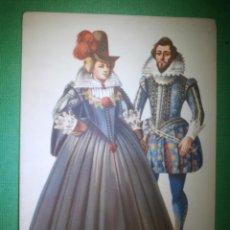 Postales: POSTAL - TRAJES DE ÉPOCA - 1615 - CREACION DE MARIA ORLOWSKA GRAVYS - AMSTERDAM - NUEVA . Lote 54992721