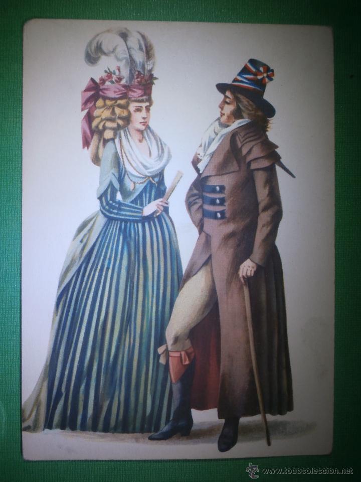 POSTAL - TRAJES DE ÉPOCA - 1794 - CREACION DE MARIA ORLOWSKA GRAVYS - AMSTERDAM - NUEVA (Postales - Postales Temáticas - Estilo)