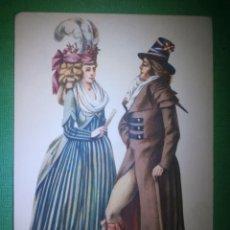 Postales: POSTAL - TRAJES DE ÉPOCA - 1794 - CREACION DE MARIA ORLOWSKA GRAVYS - AMSTERDAM - NUEVA . Lote 54992765
