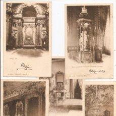 Postales: HAUSER Y MENET. DORSO SIN DIVIDIR. COLECCIÓN CÁNOVAS. 5 POSTALES. CIRCULADAS EN 1903. Lote 57916968
