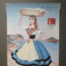 Postales: POSTAL - ESPAÑA - SERIE REGIONALES - GRANDE - P. ESPERON - SAN SEBASTIAN - SIN ESCRIBIR NI CIRCULAR. Lote 69586095