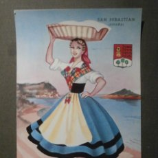 Postales: POSTAL - ESPAÑA - SERIE REGIONALES - GRANDE - P. ESPERON - SAN SEBASTIAN - SIN ESCRIBIR NI CIRCULAR. Lote 62094072