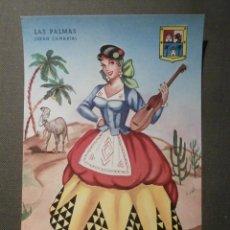 Postales: POSTAL - ESPAÑA - SERIE REGIONALES - GRANDE - P. ESPERON - LAS PALMAS Nº 7 SIN ESCRIBIR NI CIRCULAR. Lote 62094168