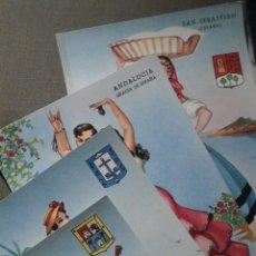 Postales: POSTAL - ESPAÑA - LOTE SERIE REGIONALES - GRANDE - P. ESPERON - 4 DIFERENTES - SIN ESCRIBIR. Lote 62094320