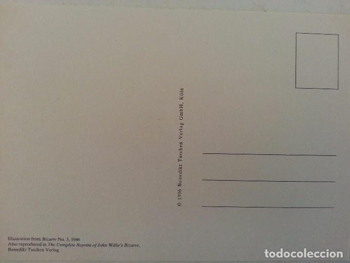 Postales: TARJETA POSTAL SIN CIRCULAR ACARTONADA - VINTAGE BIZARRE 001 - Foto 2 - 69918881