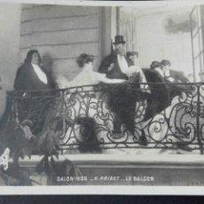Postales: EL BALCÓN SALÓN 1906 R PRINET. Lote 71924346
