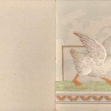 Postales: PRECIOSA POSTAL MODERNISTA TROQUELADA - DIPTICO - SIN CIRCULAR. Lote 74097159
