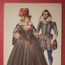 Postales: POSTAL - ESTILO - COSTUMBRES DE ALREDERDOR DE 1615. Lote 75083171