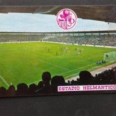 Postales: ESTADIO CAMPO FÚTBOL HELMÁNTICO. Lote 210430680