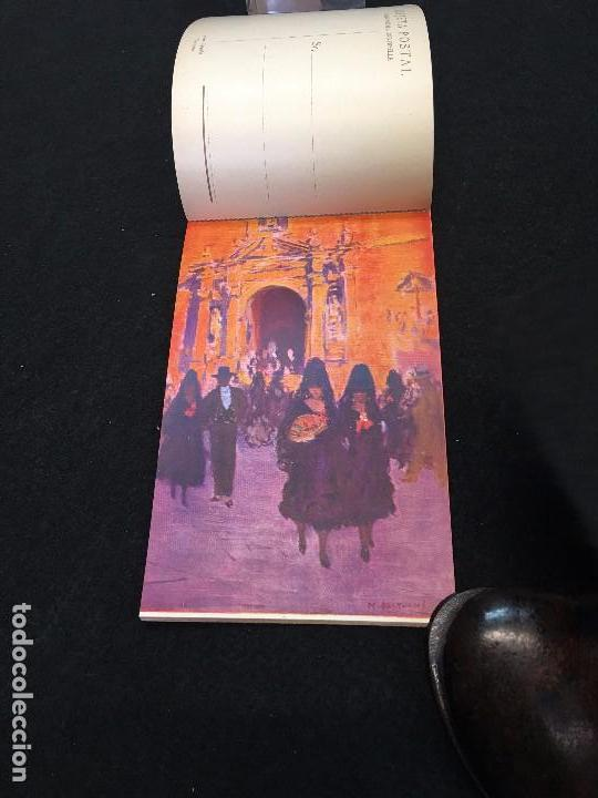 Postales: Costumbres Andaluzas por M. Bertuchi. Carnet nº 1. 10 Postales. Juan Barguñó. Barcelona. - Foto 2 - 93288550