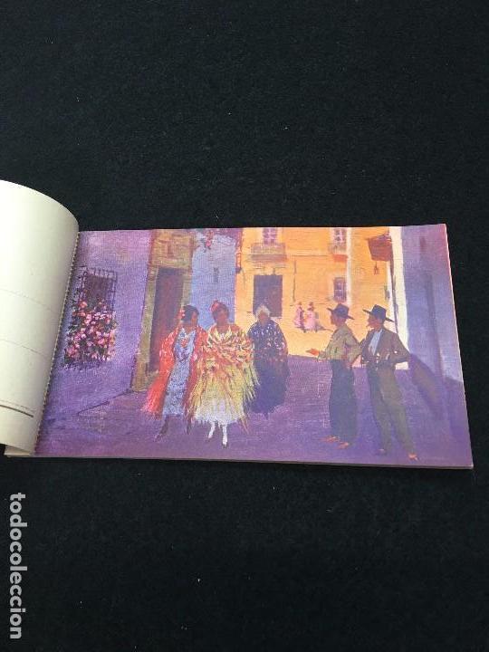 Postales: Costumbres Andaluzas por M. Bertuchi. Carnet nº 1. 10 Postales. Juan Barguñó. Barcelona. - Foto 3 - 93288550