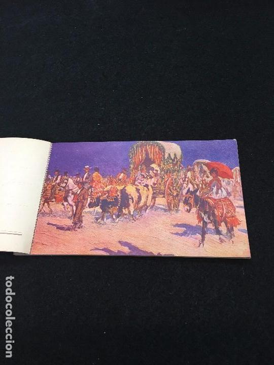 Postales: Costumbres Andaluzas por M. Bertuchi. Carnet nº 2. 10 Postales. Juan Barguñó. Barcelona. - Foto 2 - 93288745