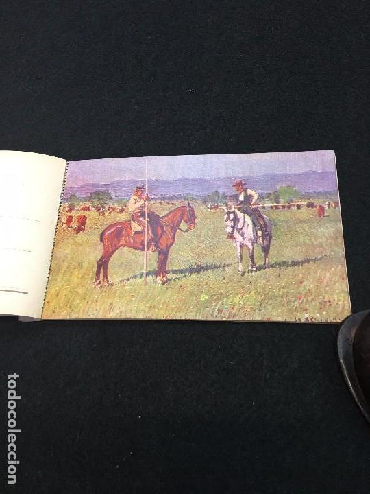 Postales: Costumbres Andaluzas por M. Bertuchi. Carnet nº 2. 10 Postales. Juan Barguñó. Barcelona. - Foto 3 - 93288745
