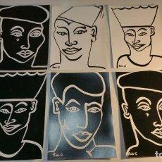 Postales: 6 POSTALES ROB SHEPHERD DESIGNS BCM BOX LONDON. Lote 94048740