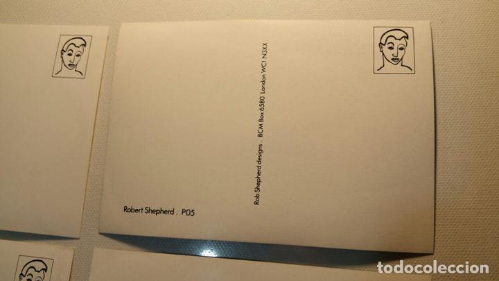 Postales: 6 POSTALES ROB SHEPHERD DESIGNS BCM BOX LONDON - Foto 3 - 94048740