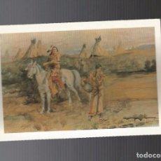 Postales: POSTAL SIN CIRCULAR - HISTORIA DEL OESTE. Lote 94379902