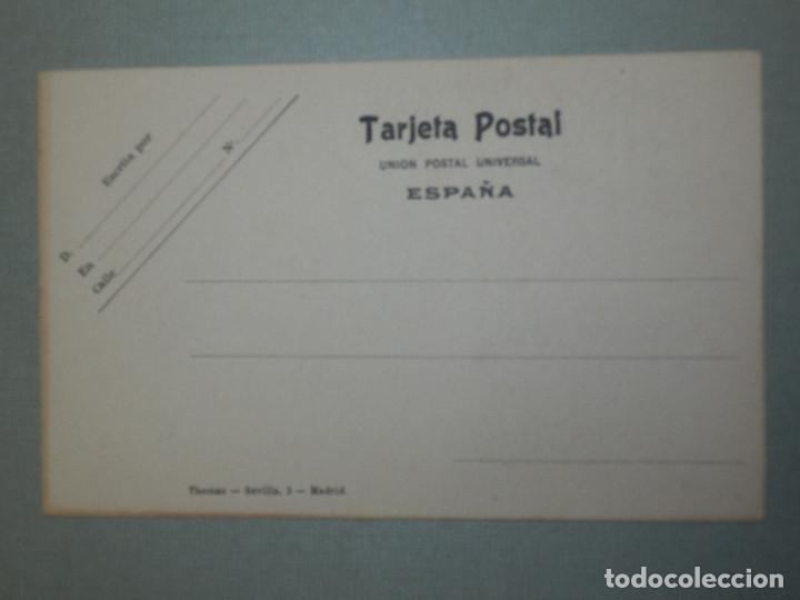 Postales: Postal - Estilo - Erótica - Edcición Española - THOMAS - Los cinco sentidos - El Gusto - Le Gout - - Foto 2 - 105131379