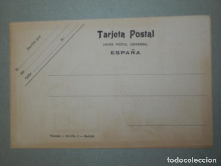 Postales: Postal - Estilo - Erótica - Edcición Española - THOMAS - Los cinco sentidos - El Tacto - Le Toucher - Foto 2 - 105131391