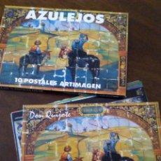 Postales: BLOCK DE POSTALES DE AZULEJOS ESPAÑOLES.. Lote 107240619