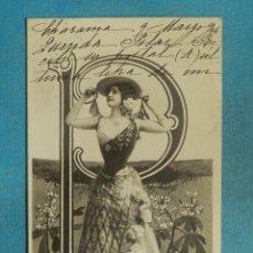 Postales: POSTAL - ESTILO - EDICIÓN FRANCESA - ESCRITA EN 1904 .. Lote 111558623
