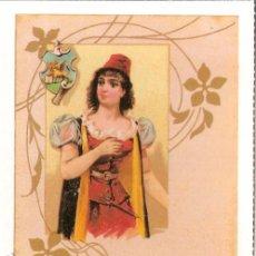 Postales: POSTAL ANTIGUA MODERNISTA - E.ANTALBE - SIN CIRCULAR - REPRODUCCIÓN. Lote 194526058