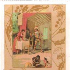 Postales: POSTAL ANTIGUA MODERNISTA - E.ANTALBE - SIN CIRCULAR - REPRODUCCIÓN. Lote 194526105
