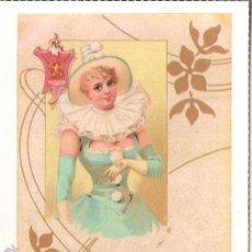 Postales: POSTAL ANTIGUA MODERNISTA - E.ANTALBE - SIN CIRCULAR - REPRODUCCIÓN. Lote 194525940
