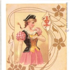 Postales: POSTAL ANTIGUA MODERNISTA - E.ANTALBE - SIN CIRCULAR - REPRODUCCIÓN. Lote 194526013