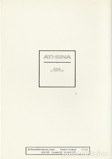 Postales: POSTAL MODERNA ORIGINAL - BUBBLES BY FRANK SMITH - ATHENA INTERNATIONAL - INGLATERRA - NUEVA - Foto 2 - 112810467