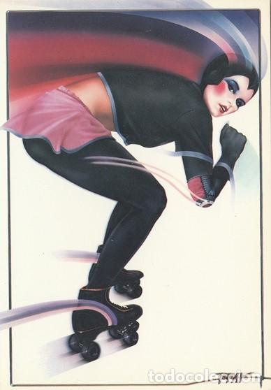 POSTAL MODERNA ORIGINAL - ROLLER SKATER BY SYD BRAK - ATHENA INTERNATIONAL - INGLATERRA -NUEVA (Postales - Postales Temáticas - Estilo)