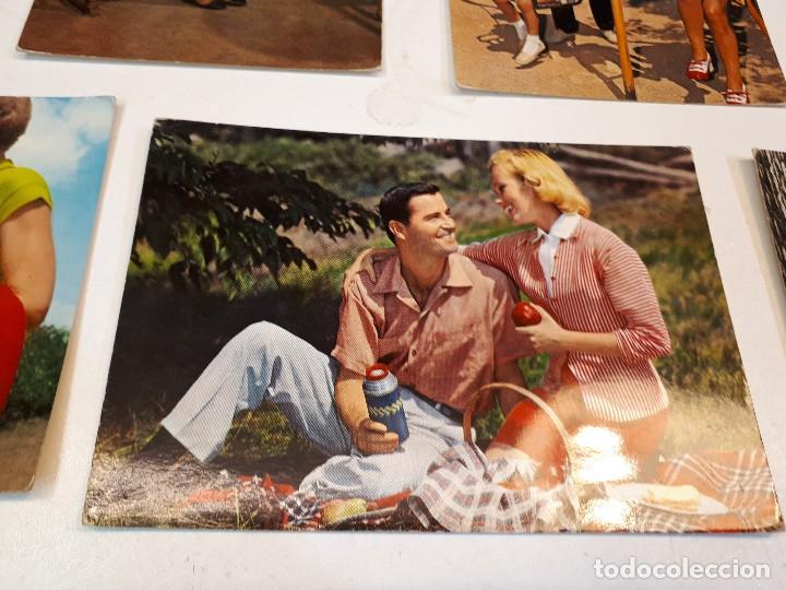 Postales: 17 postales vintage familias - Foto 11 - 112963335