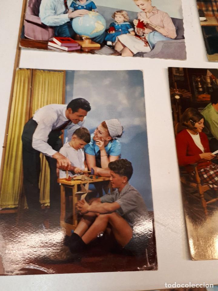 Postales: 17 postales vintage familias - Foto 13 - 112963335